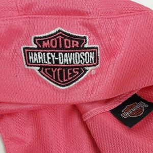 Harley Davidson Pink Skull Cap